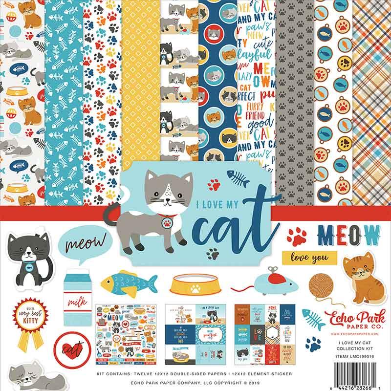 Collection Kit I Love My Cat van Echo Park